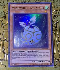 RATE-EN008 Windwitch Snow Bell Ultra Rare UNL Edition Mint YuGiOh Card