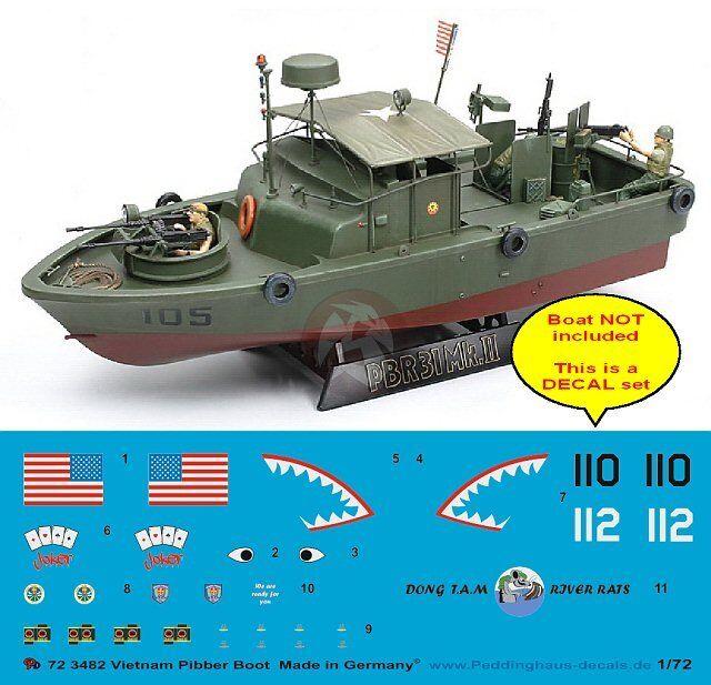 "Peddinghaus 1//72 US Navy PBR 31 Mk.ii /""pibber/"" Patrol Boat Vietnam Markings 3482 for sale online"