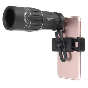 Hot-Zoom-Hiking-Monocular-Telescope-Lens-Cameras-HD-Scope-Hunting-Phone-Holder