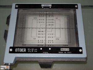 Durst-Reprokassette-OTOKA-10x12cm-4x5-in-fuer-Laborator-1000-Repro-Copy-Unit