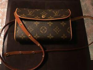 Details About Louis Vuitton Waist Pouch Purse