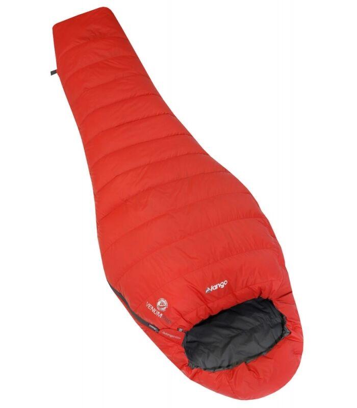 Vango Venom 200 Down Sleeping Bag Lightweight DofE (2018 Model) - Volcano