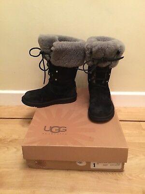 UGG Women's Quincy Winter Boot, Chestnut, 5.5 B US: Buy