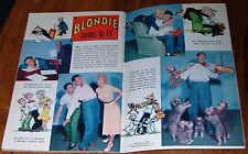 1957 OKLAHOMA TV GUIDE~TALES OF WELLS FARGO~CAPTAIN KANGAROO~LES LAMPSON~BLONDIE