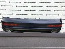 AUDI Q7 S LINE FACE LIFTING 2009-2015 REAR BUMPER COMPLETE GENUINE [A414]
