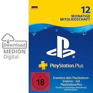 Sony PlayStation Plus 12 Monate Mitgliedschaft Download Code