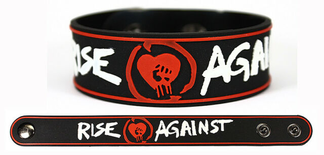 RISE AGAINST Bracelet Wristband Siren Song of the Counter Culture