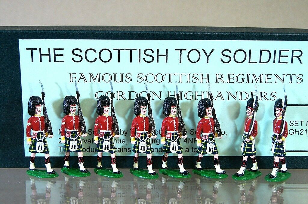 Schottische Spielzeug Soldat Company Gordon Highlanders Marsch at the Hang C