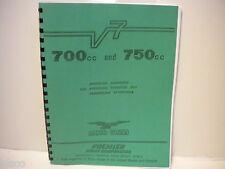 Moto Guzzi 700 & 750 Service Manual
