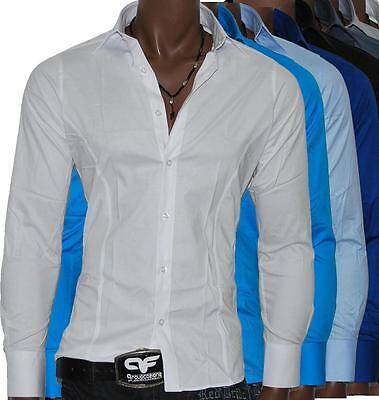Redbridge by Cipo Baxx Super Slim Fit Hemd Tailliert  Men`S Polo Shirt RB-2111