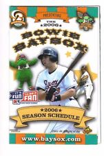 2006 BOWIE BAYSOX POCKET SCHEDULE