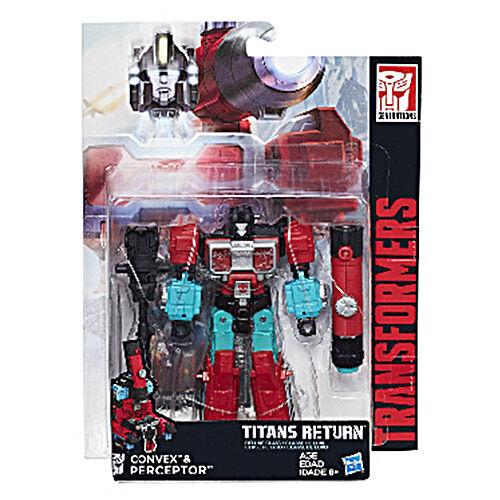 Transformers Generations Titans Return Wave 4 Deluxe # Convex & Perceptor