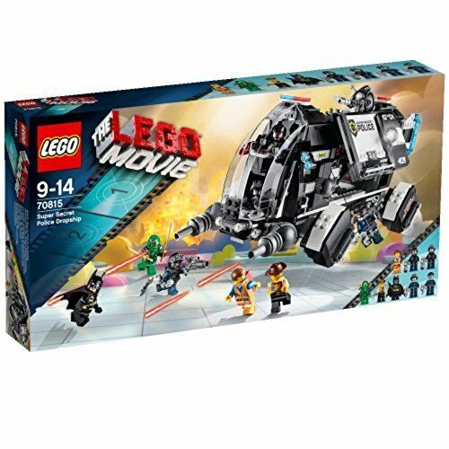 The LEGO Movie 70815  Super Secret Police Dropship Lego set Brand New sealed