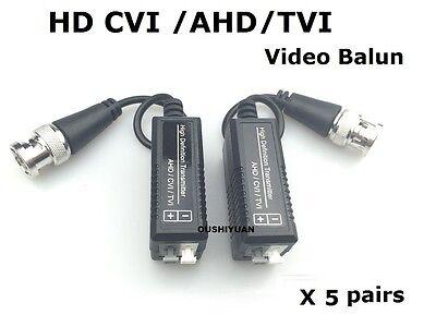 20 Pairs HD CCTV Via Twisted Pairs Adapter HD CVI//TVI//AHD Passive HD Video Balun