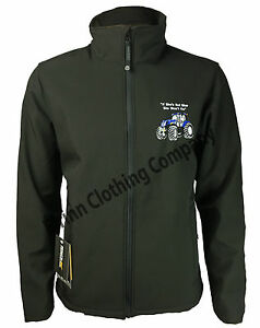 Image is loading New-Holland-Tractor-Regatta-Full-Zip-Soft-Shell-