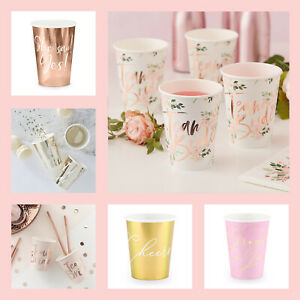 HEN-PARTY-CUPS-Hen-Night-Accessories-Rose-Gold-Bride-to-Be-Team-Bride