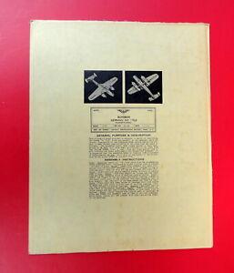 AAF-AIRCRAFT-IDENTIFICATION-MODEL-GERMAN-DO-17z2-BOMBER-1943