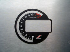 KAWASAKI z1000 03-06 Tachimetro Tachimetro Gauge Dial NINJA BLACK Quadrante