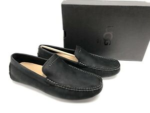 3c65224e1b9 Details about UGG Australia Henrick Slip-on Loafer Moccasins Black Driving  Loafers 1017317