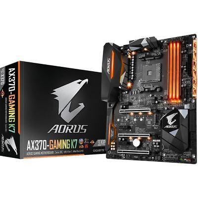 Gigabyte AORUS GA-AX370-Gaming K7 AMD X370 So.AM4 Dual Channel DDR4 ATX Retail