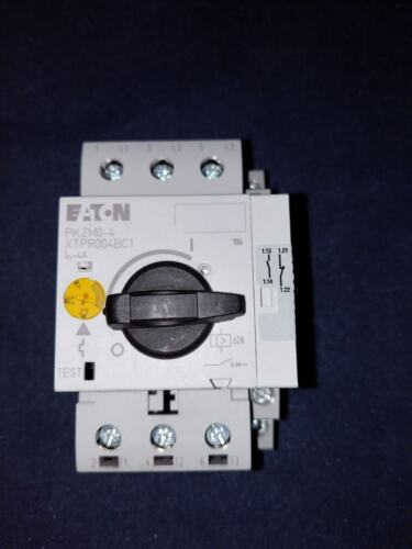 Eaton PKZM04 with NHI11PKZ0 Brand New, Din Rail Adjustable Contactor