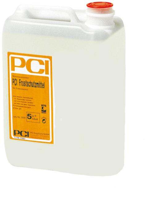 PCI Anticongelante 5kg, Aditivo para Mortero de Cemento Albañilería Pavimento