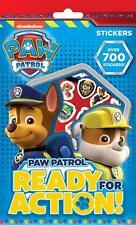 700 Pegatinas de Paw Patrol perros de rescate perfecta Botín Fiesta De Cumpleaños Bolsa Rellenos
