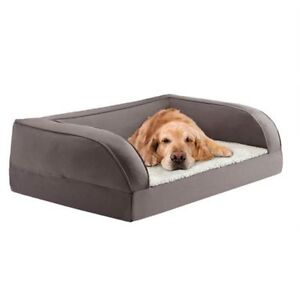 Elderly Memory Foam Dog Bed