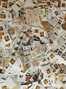German-Kiloware-On-paper-Stamp-Mixture-On-Paper-Stamps-1kg-decoupage-arts-crafts