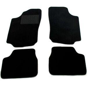 Opel-CORSA-C-Velours-Fussmatten-Textilmatten-Automatten-Satz-4-Teilig-NEU