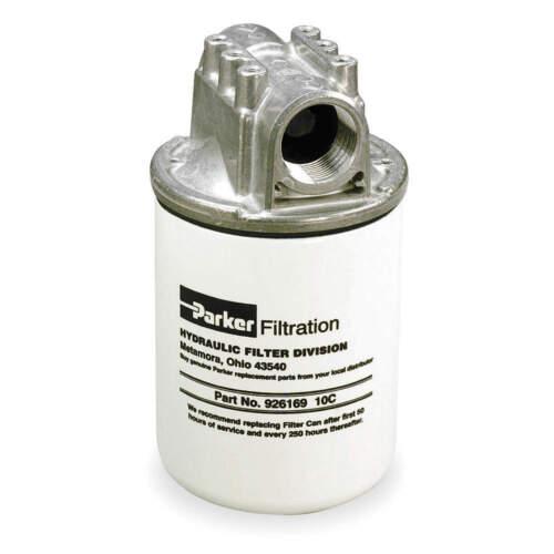 PARKER 12AT20BN15BBH Hydraulic Filter,20 Micron,Microglass