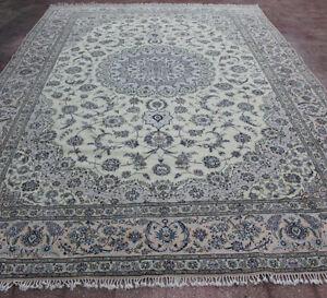 Nain Wool & Silk Carpet 600 x 400 cm