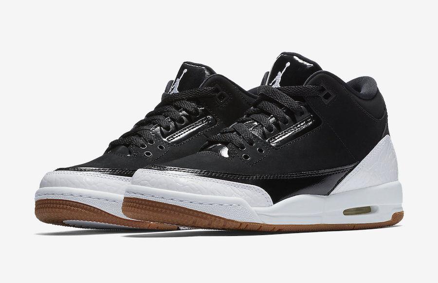 Nike air jordan 3 ii retro - gg weiß - schwarz - größe 7y 441140-022 7.