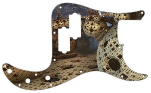 P Bass Precision Pickguard Custom Fender 13 Hole Guitar Pick Guard Surreal 1