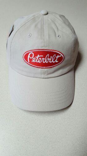 Peterbilt Unstructured twill Khaki Cap NEW Adjustable Hat