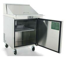 New 1 Door 28 Refrigerated Mega Top Prep Table Cooler Nsf Atosa Msf8305gr 2230