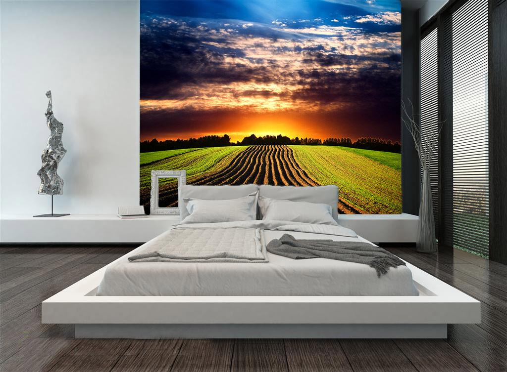 3D Ordentlich Lange Felder 23 Fototapeten Wandbild Fototapete BildTapete Familie