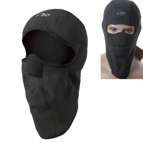 Motorcycle Thermal Fleece Balaclava Neck Winter Ski Full Face Mask Cap Hat Cover