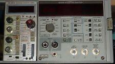Tektronix Rack Test Equipment Lot Including Harmonic Amp Intermodulation Analyzer