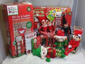 Elf-Accessories-Props-Put-On-The-Shelf-Ideas-Kit-Plush-Toy-Christmas-Decoration