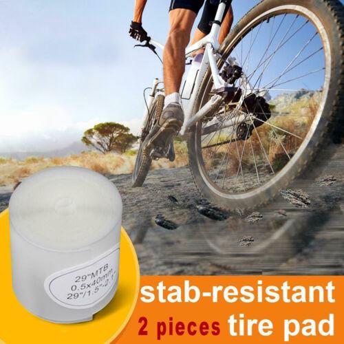 2pcs MTB Bike Tire Liner Bicycle Tyre Inner Tube Anti-Puncture Belt 26//27.5//29/'/'