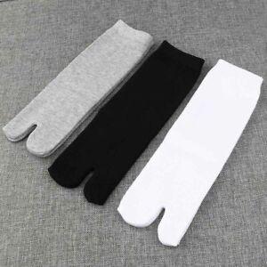 3-Pairs-Cotton-Split-Toe-Socks-For-Men-Women-Kimono-Flip-Flop-Sandal-Tabi-Ninja