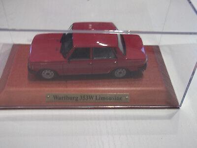 WARTBURG 353 LIMOUSINE 1984 NEW-NEU--OVP -- 1//43 IXO//IST