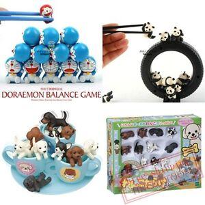 japan epoch special cute doraemon dog panda balance family game
