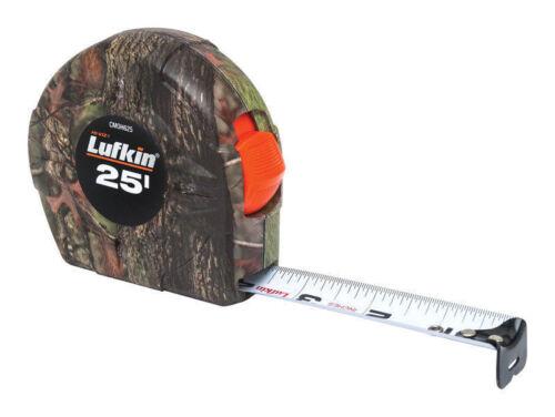 LUFKIN 25/' CAMO TAPE MEASURE BRAND NEW CAMOUFLAGE 25 FEET