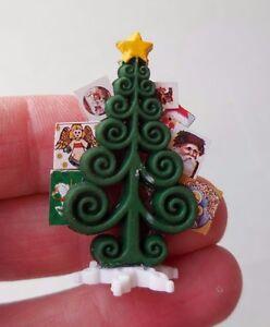 image is loading dollhouse miniature christmas tree card holder