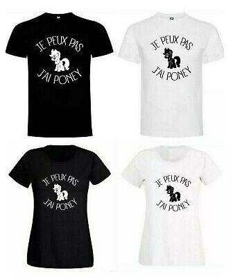 """T-shirt drôle humour apéro 51 blague /""""j/'peux pas j/'ai pastis /"""" Cadeau"""