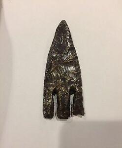 Bronze Copy Of A Flint Andice Point