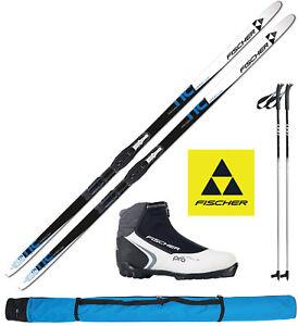 Details zu Fischer Comfort Cruiser Ski L=184cm + Bindung + Schuhe women + Stöcke + Skisack