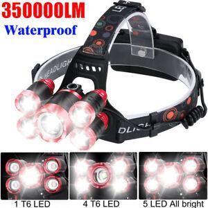 350000LM-Waterproof-T6-LED-Head-Torch-Light-Headlamp-Flashlight-Work-Spot-Lamp